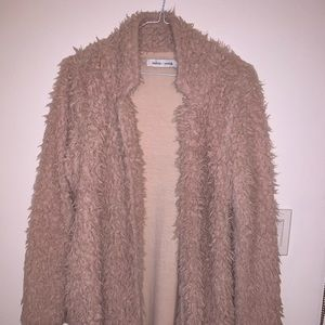 Anthropologie/ Bishop + Young Fuzzy Sweater